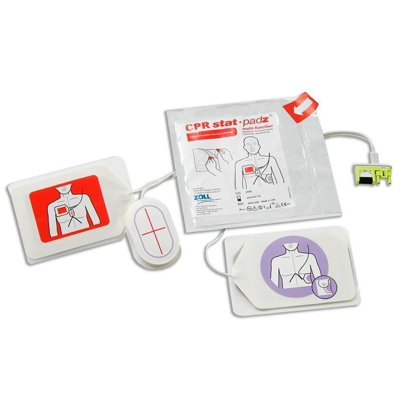 Zoll 2-Piece AED CPR Stat Padz | 8900-0402 - CarePoint Resources LLC