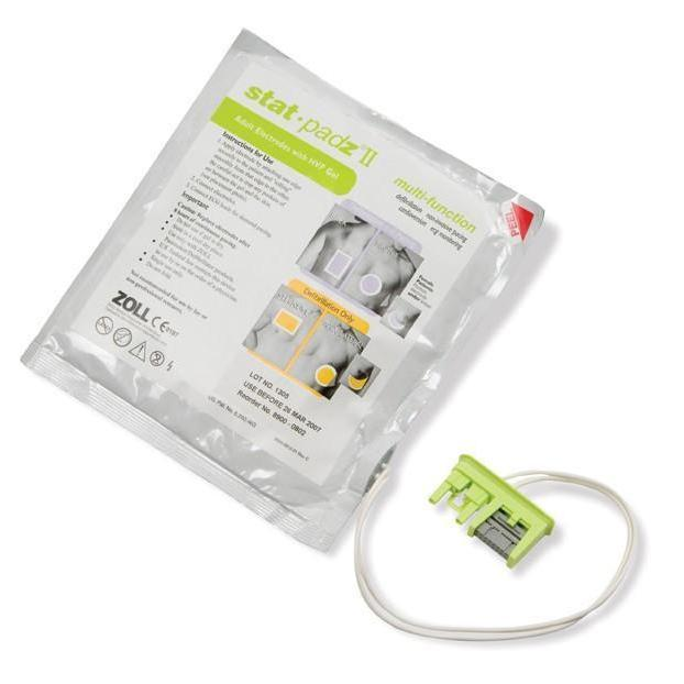 Zoll AED Stat Padz II Electrodes (1 pair) | 8900-0801-01 - CarePoint Resources LLC