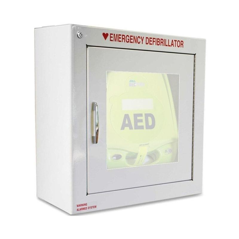 Zoll Brand AED Wall Cabinet Surface Mount with Alarm | 8000-0855 - CarePoint Resources LLC