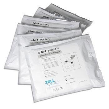 Zoll Stat Pads TRAINING Electrodes - 6 pairs | 8900-0805-01 - CarePoint Resources LLC