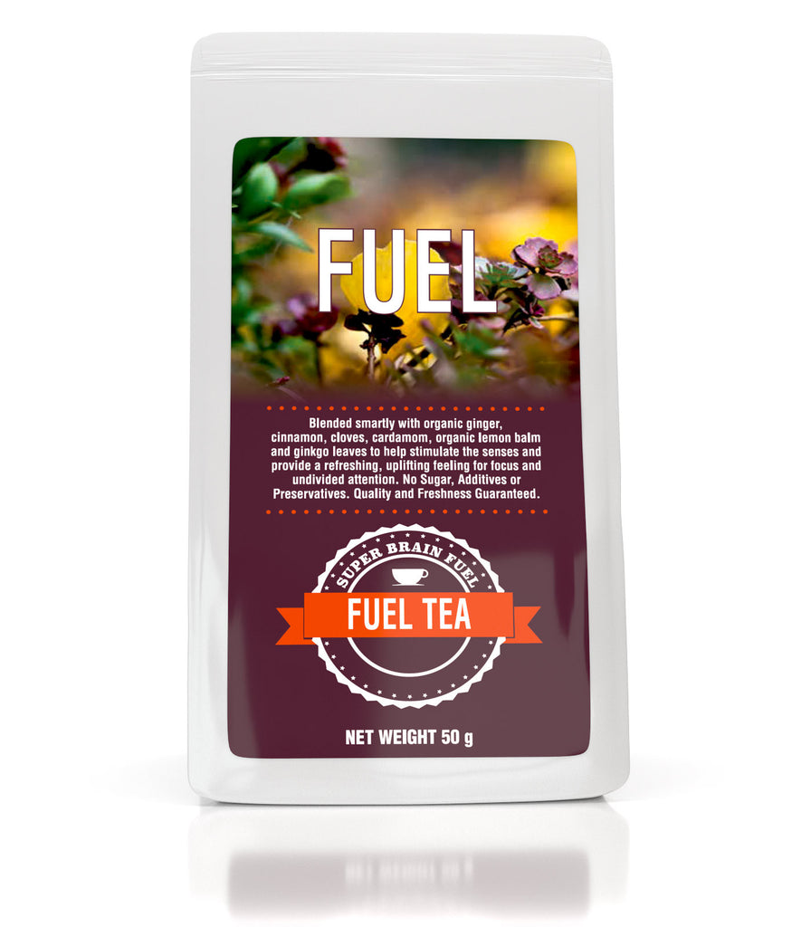 Super Brain Fuel – Fuel Tea – Smartly Formulated Tea To Fire You Up. 50g - Super Brain Fuel Smart Shop