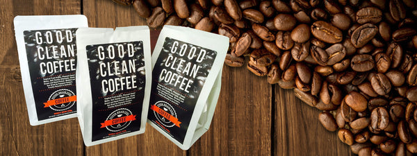 Super Brain Fuel – Good Clean Coffee Beans – Roasted Whole Beans. 250g