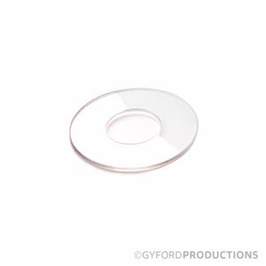Vinyl Washers for Glass Installation (Gyford Low Profile Caps)