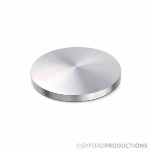 "2 1/2"" Domed Aluminum Gyford Cap"