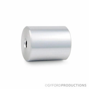 "1 1/4"" Diameter, 1 1/2"" Tall Gyford Aluminum Barrel"