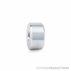 "1"" Diameter, 1/2"" Tall, Aluminum Gyford Barrel"
