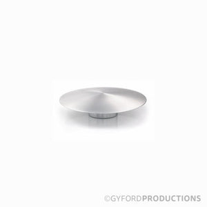 "1 1/2"" Diameter, Gyford Low Profile Aluminum Cap"