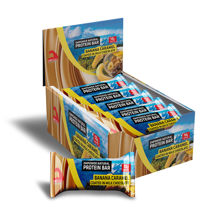 Empower Natural Protein Bar (DISCOUNT DEAL - MUST BUY 3 BOXES TO GET DEAL) - Limitless Supplements New Zealand