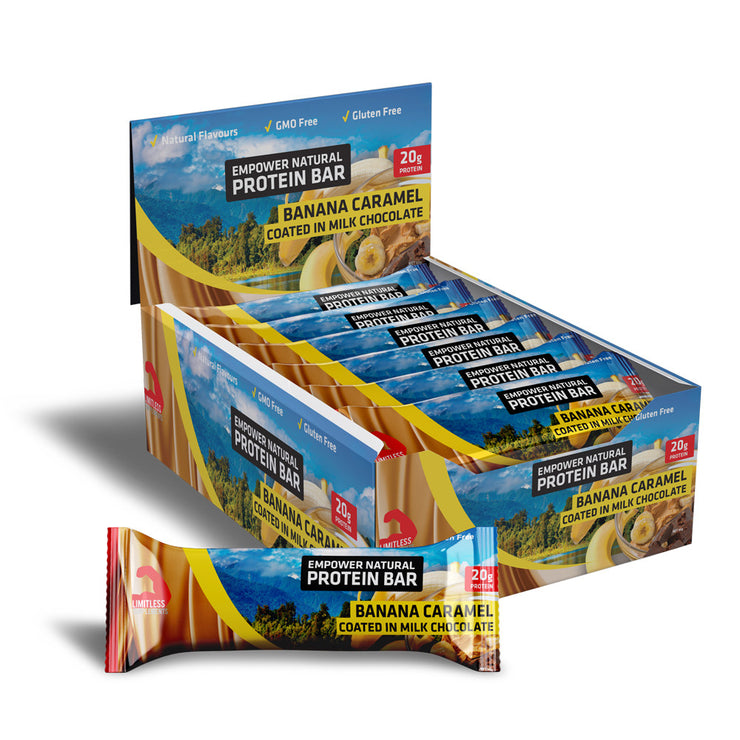 Empower Natural Protein Bar - Limitless Supplements New Zealand