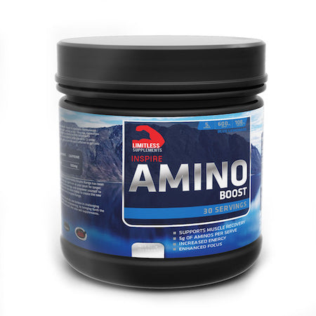 Inspire Amino Boost - Limitless Supplements New Zealand