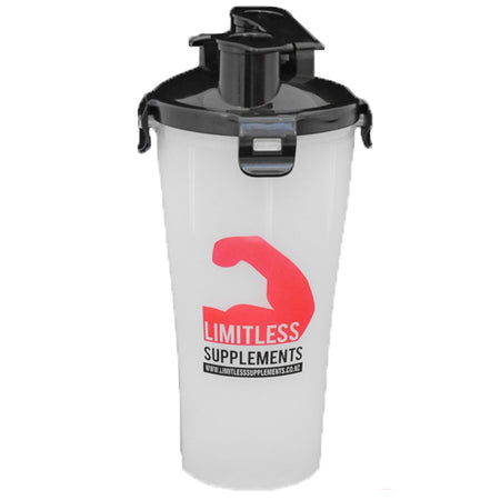 Limitless Dual Shaker - 750ml - Limitless Supplements New Zealand