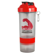 Limitless Smart Shaker - 600ml - Limitless Supplements New Zealand