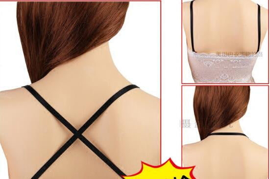 Cross back Perfect Conceal Bra Straps Clips - 0.4cm/0.8cm