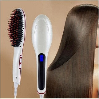 Women Automatic Hair Straightening Comb