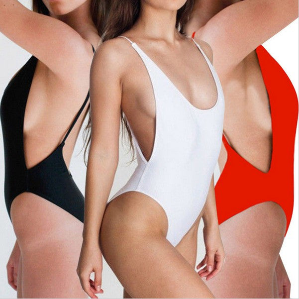 Women Sexy Bandage Bikini One Piece Swimsuit Bathing suit Swimwear