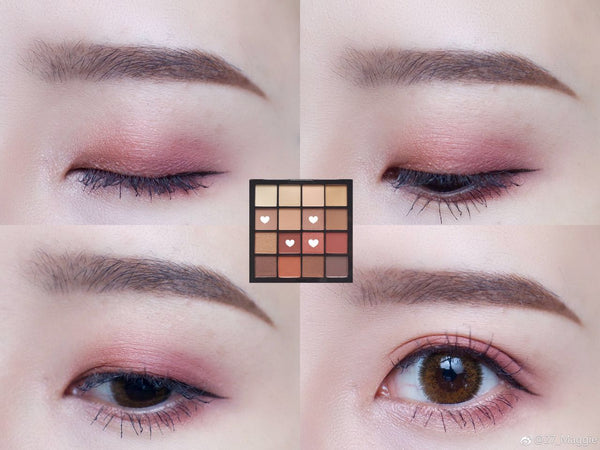 NYX 16 color eye shadow