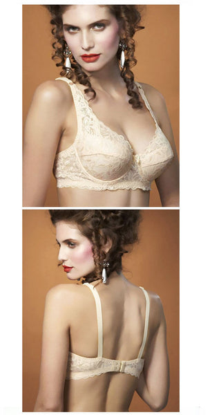 Hot Underwire Full Coverage non padded Lace Sheer Bra