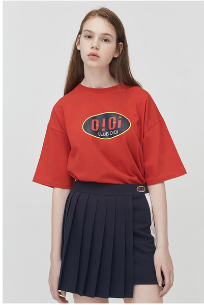 OiOi BIG ROUND LOGO T-Shirt