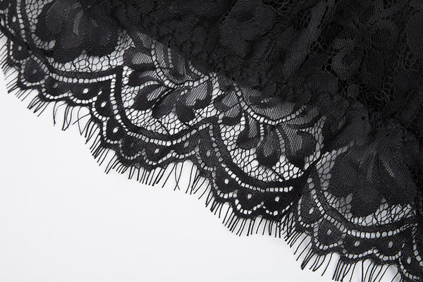 Eyelash Lace Bra