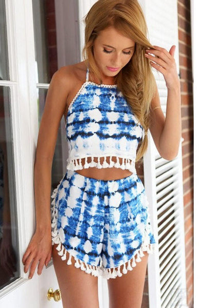 Tie Dye Two Piece Set - Festival Gypsy