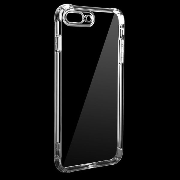 Ultra thin Clear Transparent TPU Silicone Case For iPhone XS MAX XR 6 7 6S Plus Protect Rubber Phone Case For iPhone 8 7 Plus