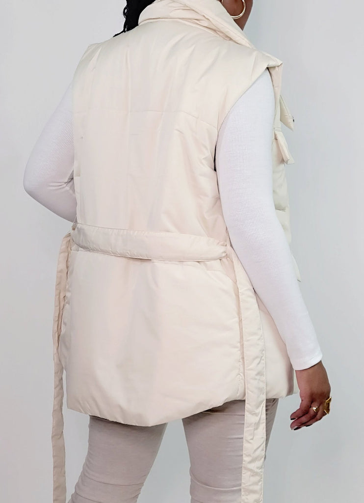 FLYING TOMATO Cozy Puffer Vest - Mod Instinct Limited