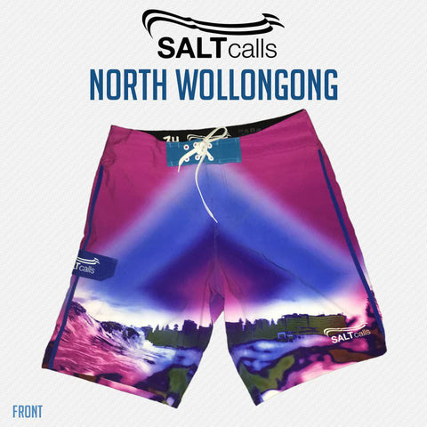 North Wollongong Beach - Steel City Clothing, Wollongong