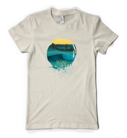 South Beach Grain Terminal Sunset T-Shirt | SALTCALLS