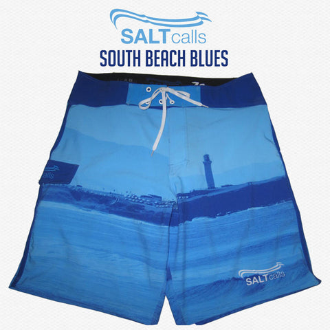 South Beach Blues (4 Way Stretch) - Steel City Clothing, Wollongong
