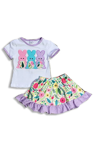 Easter Bunny Skirt Set 400622
