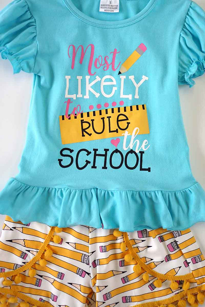 Rule school pencil set 503773