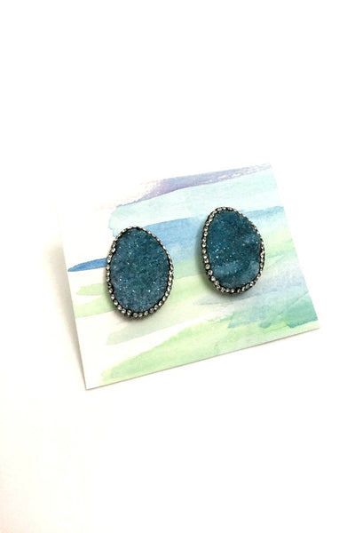 Kyra Earrings- Blue