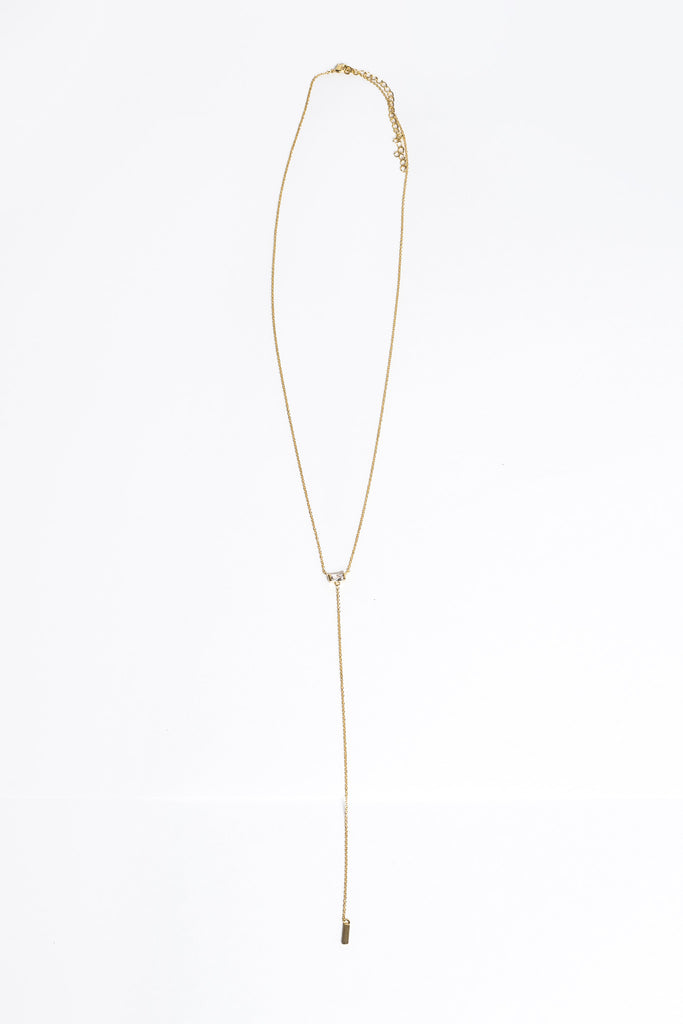 Gwen Lariat Necklace