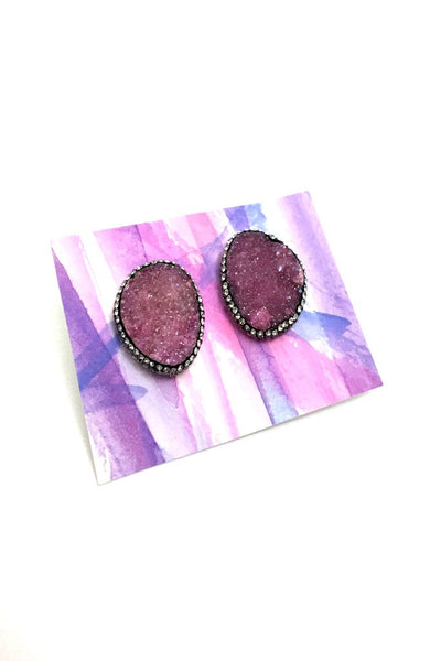 Kyra Earrings- Pink