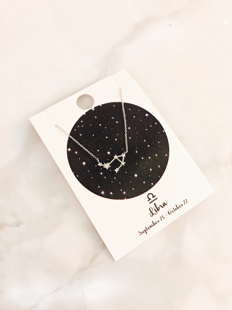 Zodiac Sign Necklace: Libra