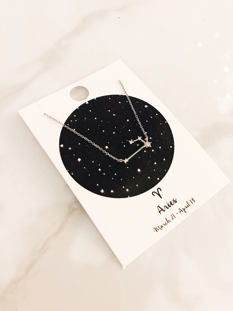 Zodiac Sign Necklace: Aries