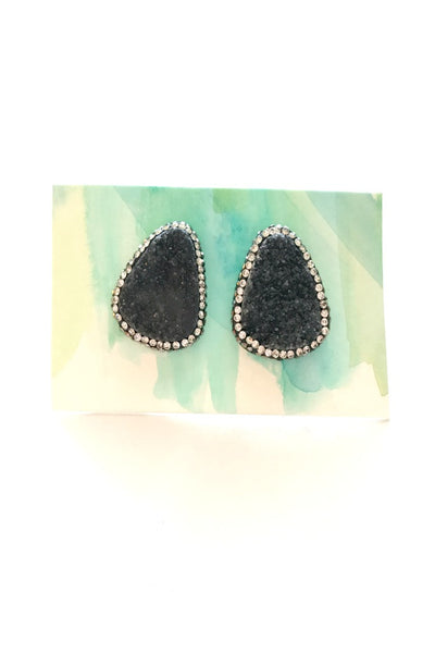 Kyra Earrings- Black