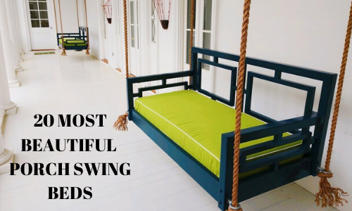 20 MOST BEAUTIFUL PORCH SWING BEDS
