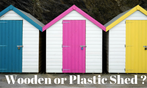 Wooden Sheds vs. Plastic Sheds: Which One Should You Choose