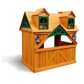 Gorilla Playsets  Malibu Playhouse 01-3036-G - Swings and More