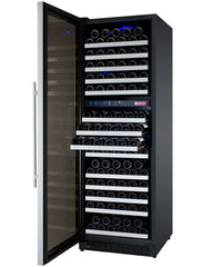 Allavino FlexCount Series 172 Bottle Dual Zone Wine Refrigerator with Left Hinge