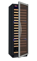 Allavino FlexCount Classic Series 172 Bottle Dual Zone Wine Refrigerator - Right Hinge Stainless Steel Door