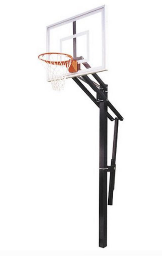 "First Team Slam Nitro In Ground Adjustable Basketball Hoop 36""x60"""