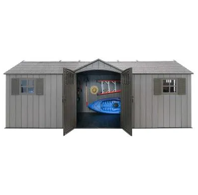 Lifetime 20 X 8 Outdoor Storage Shed