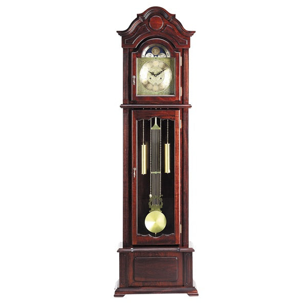 Acme Furniture Sebastian Grandfather Clock Dark Walnut