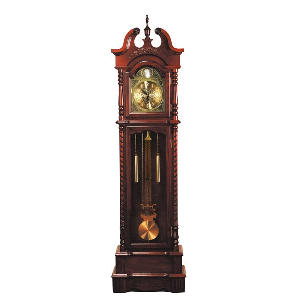 Acme Furniture Broadmoor Grandfather Clock Walnut Finish