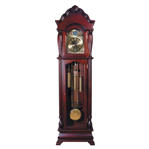 Acme Furniture Arendal Grandfather Clock Cherry Finish