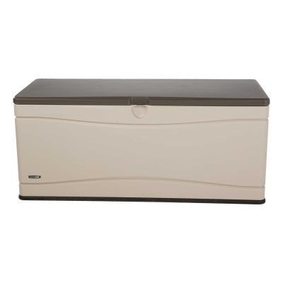 Lifetime 130 Gallon Outdoor Storage Box Beige - Swings and More