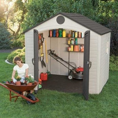 Lifetime 8 X 5 ft. Outdoor Storage Shed With Window