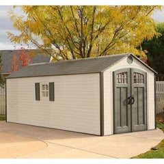 Lifetime 8 X 20 ft. Storage Shed (With 2 Windows)
